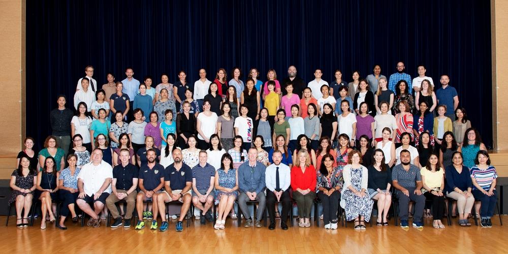 2017-2018 KJS Staff Photo