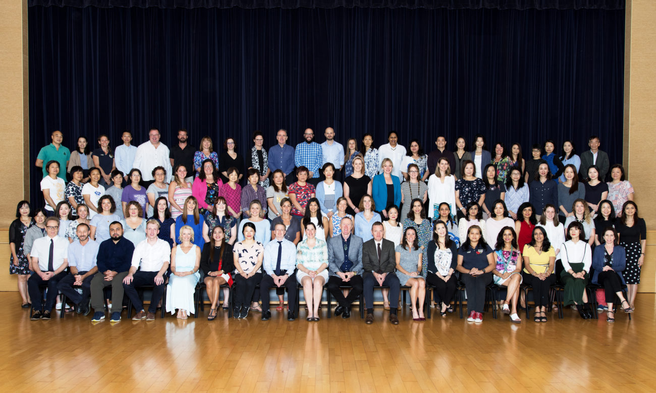 2018-2019 KJS Staff Photo