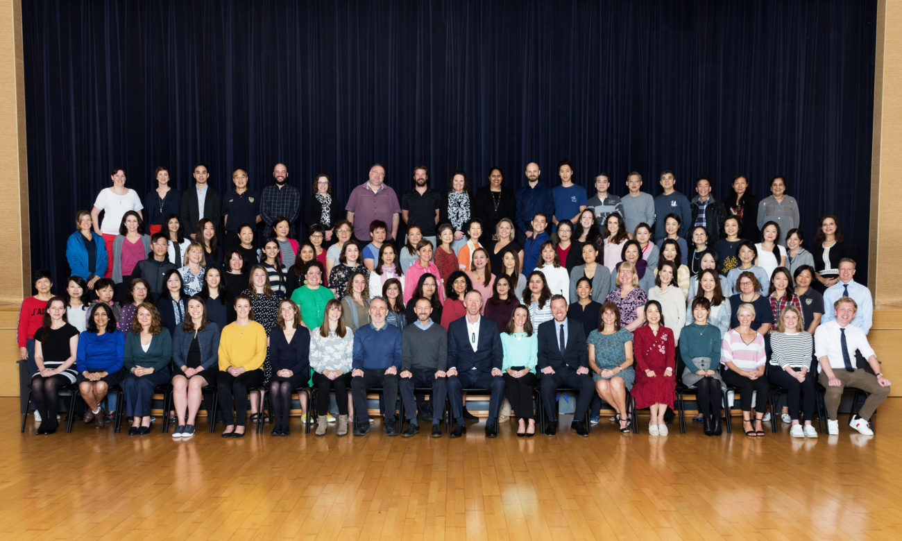 2018-2019 KJS Staff Photo